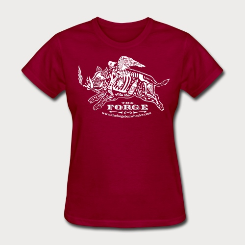 The Forge White Pig 01 - Women's T-Shirt
