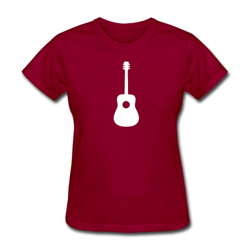 Guitar Upright - Women's T-Shirt