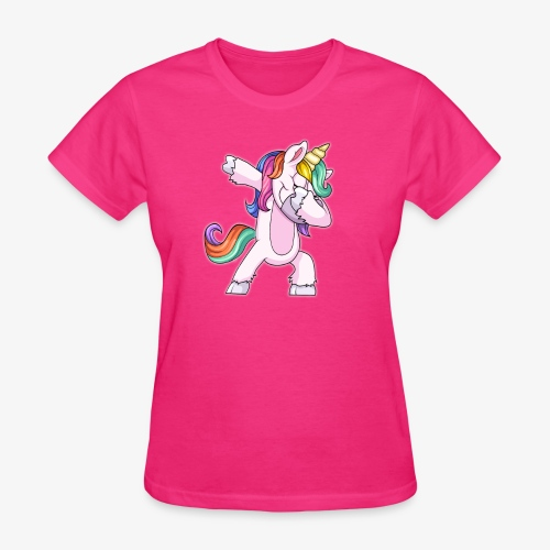 DABBING UNICORN Kid - Women's T-Shirt