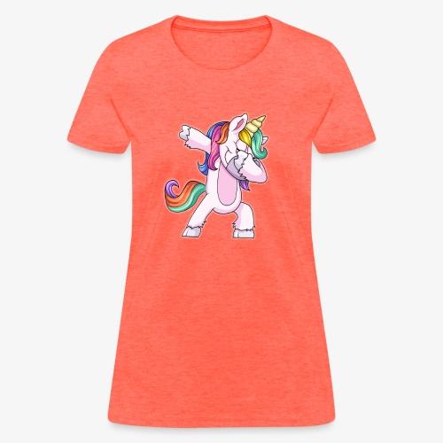 DABBING UNICORN Kid - Women's T-Shirt