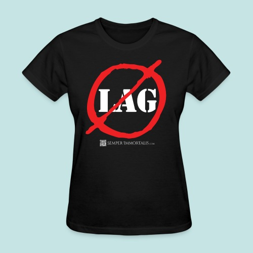 No Lag (white) - Women's T-Shirt