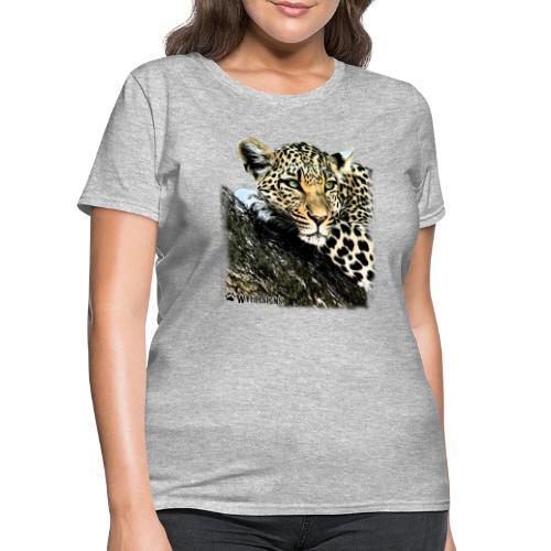 Leopard Cutout - Women's T-Shirt