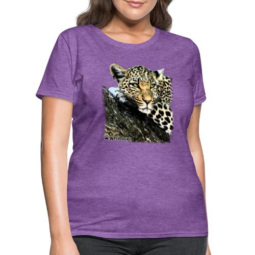 Leopard Cutout - Women's T-Shirt