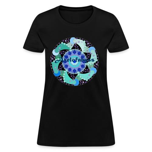 Axelofabyss The Ocean Moon - Women's T-Shirt
