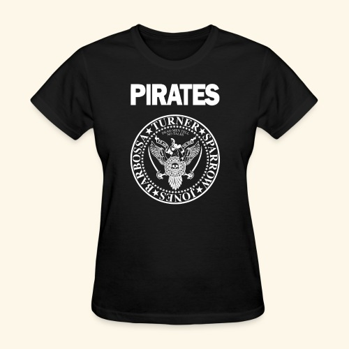 Punk Rock Pirates [heroes] - Women's T-Shirt