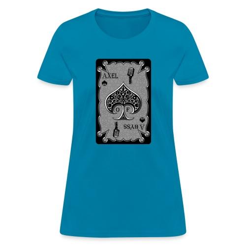 Axelofabyss Spade Card - Women's T-Shirt