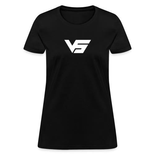 White First Vast Logo - Women's T-Shirt