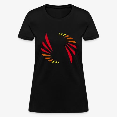 Hot Colors Logo - Women's T-Shirt