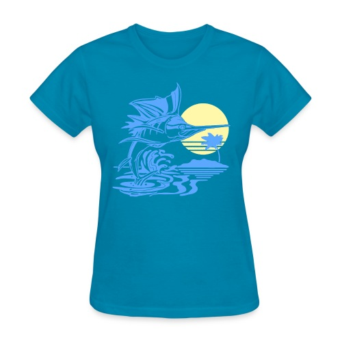 Sailfish - Women's T-Shirt