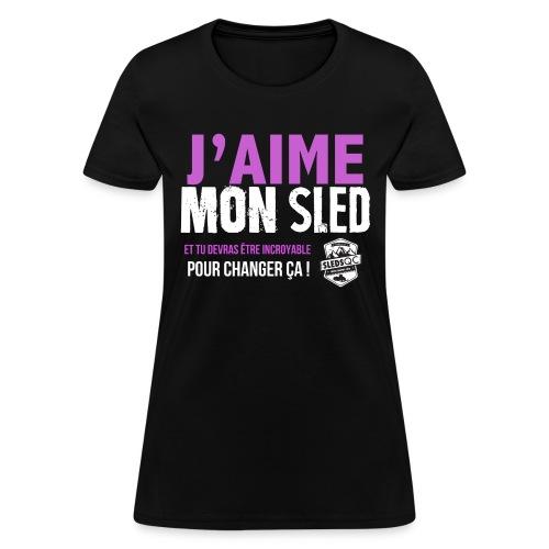 FILLES2 png - Women's T-Shirt