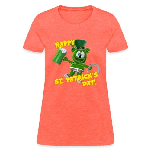 Gummibär (The Gummy Bear) Saint Patrick's Day - Women's T-Shirt