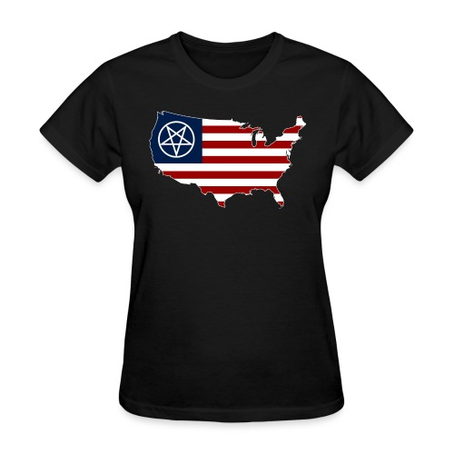 United Satanic America - Women's T-Shirt