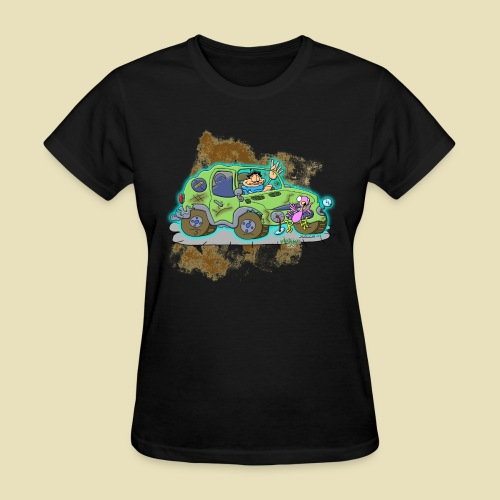Ongher's UFO Crashed Car - Women's T-Shirt