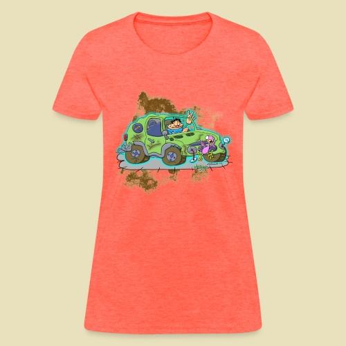 Ongher's UFO Crashed Car - Women's T-Shirt