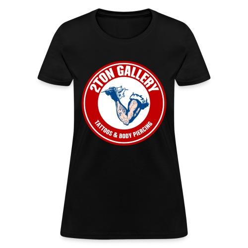 2TON Gallery Logo - Women's T-Shirt