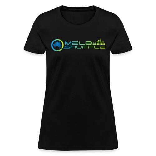 Melbshuffle Gradient Logo - Women's T-Shirt