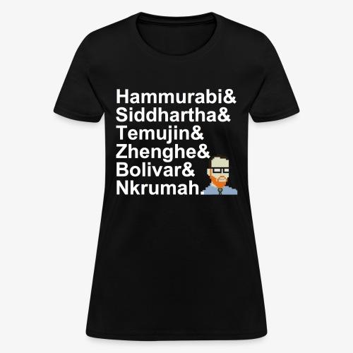 & AP World History Shirt - Women's T-Shirt