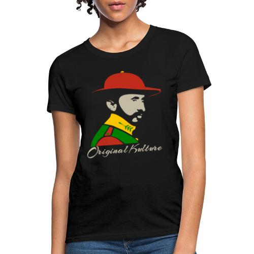 Haile Selassie Rasta Print - Women's T-Shirt