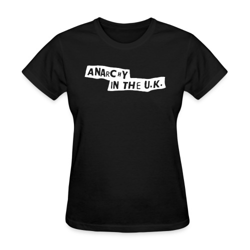 anarchy in the uk - Women's T-Shirt