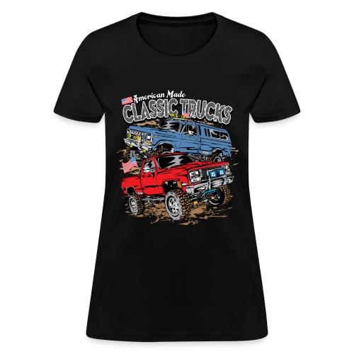 American Made Classic Trucks - Women's T-Shirt