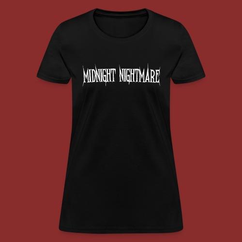 Midnight Nightmare Logo-w - Women's T-Shirt