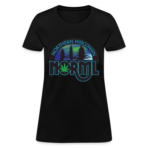 Northern Wisconsin NORML Official Logo - Women's T-Shirt