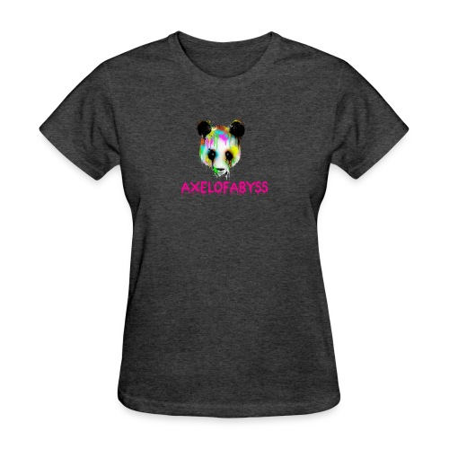 Axelofabyss panda panda paint - Women's T-Shirt