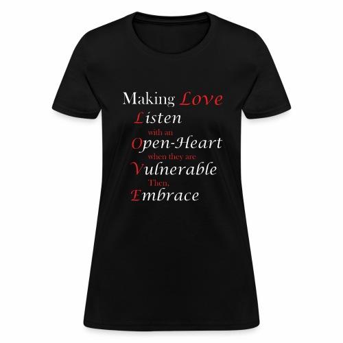Making Love - Women's T-Shirt