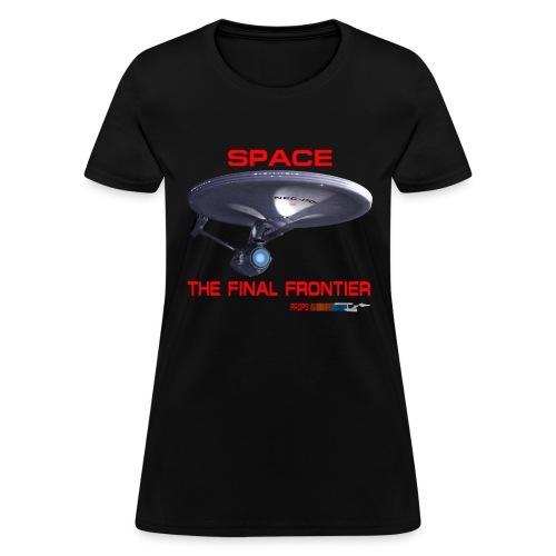The Final Frontier Props & Ships Tee - Women's T-Shirt