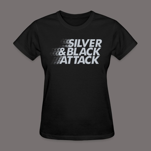 Silver Black Attack - Women's T-Shirt