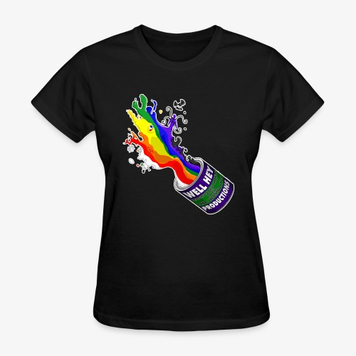 Tenebris Paint Bucket - Women's T-Shirt