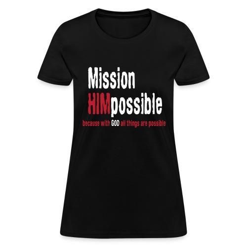 BetterMissionLogoHIGHnew - Women's T-Shirt