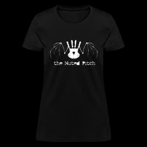 Death Bat BW White png - Women's T-Shirt