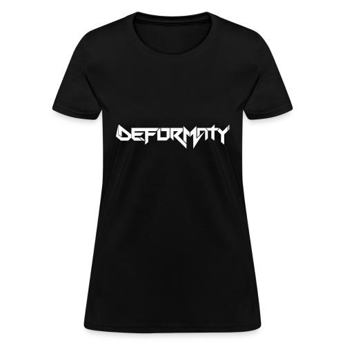 Deformaty Logo - Women's T-Shirt