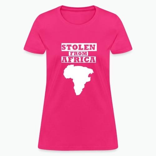 SFA LOGO WHITE - Women's T-Shirt