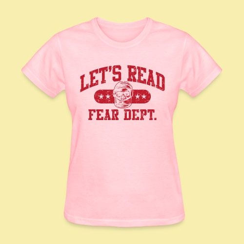 Fear Dept - Athletic Red - Inverted - Women's T-Shirt