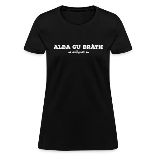 alba_front_w - Women's T-Shirt
