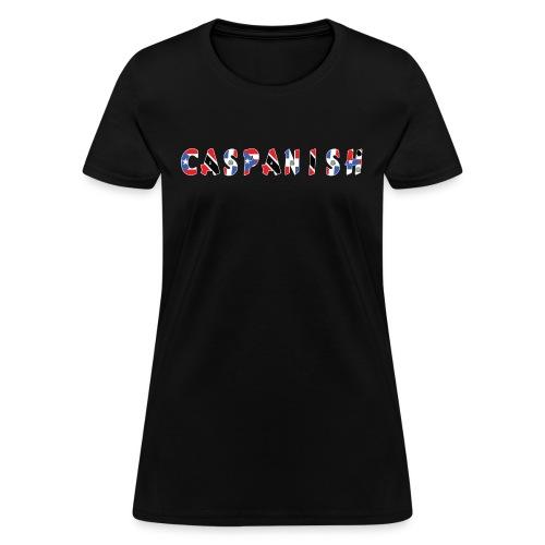 Caspanish 3-Flag Graphic - Women's T-Shirt