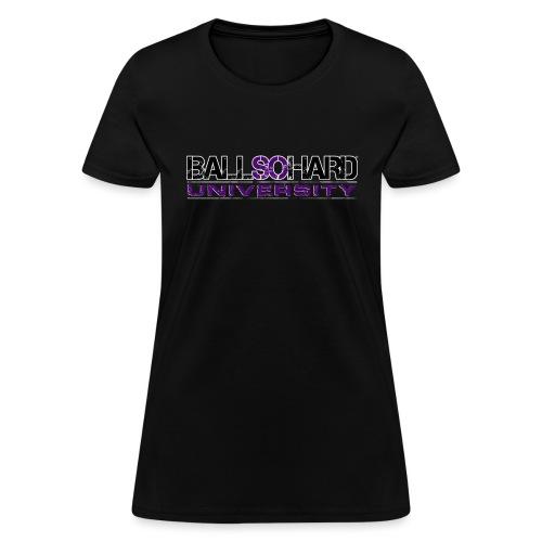 BSHU Just Text - Women's T-Shirt