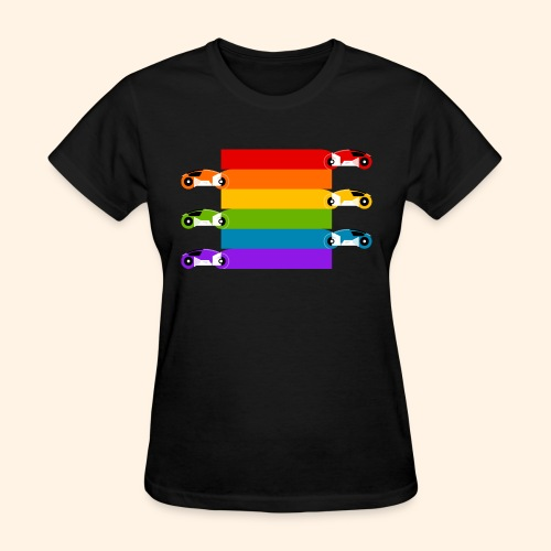 Pride on the Game Grid - Women's T-Shirt
