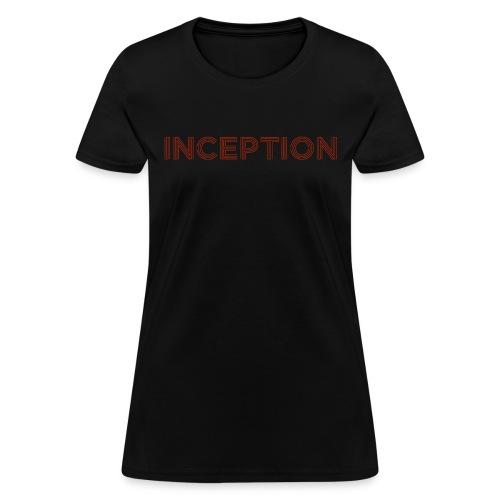 INCEPTION logo - Women's T-Shirt
