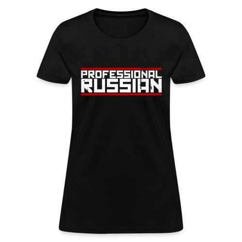FPS Russia Logo MP Long Sleeve Shirts - Women's T-Shirt
