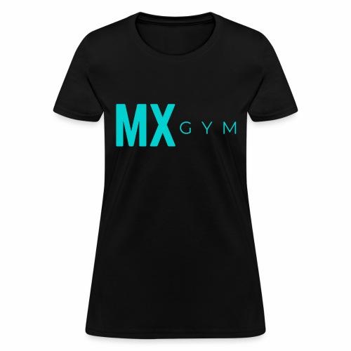 MX Gym Minimal Long Teal - Women's T-Shirt