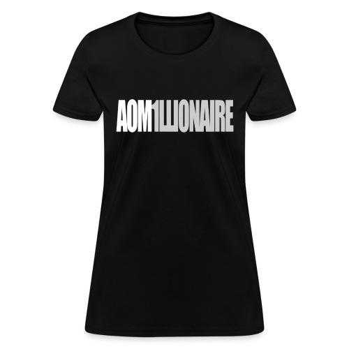 aom1illionairegrey - Women's T-Shirt