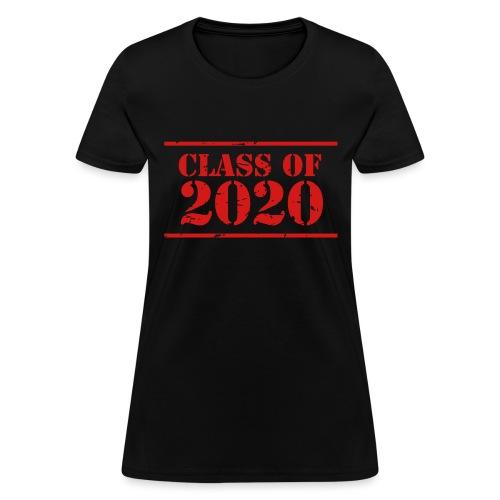 Class of 2020 stencil - Women's T-Shirt