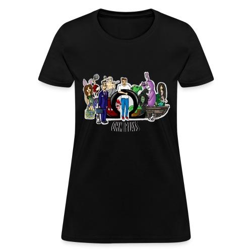 Ohm Shirt Ohm Plays Final Version Title png - Women's T-Shirt