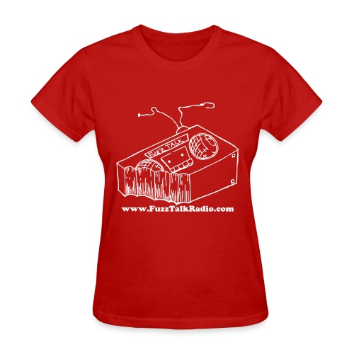FTRLogoWhiteAddress - Women's T-Shirt