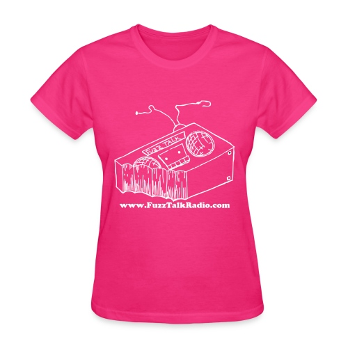 FTRLogoWhiteAddress - Women's T-Shirt