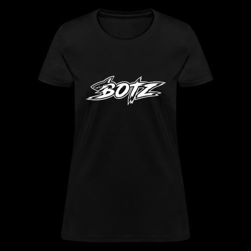 BOTZ White Logo - Women's T-Shirt