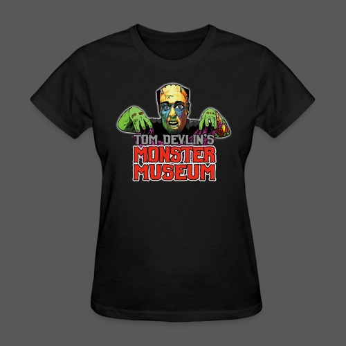 Monster Museum Logo - Women's T-Shirt